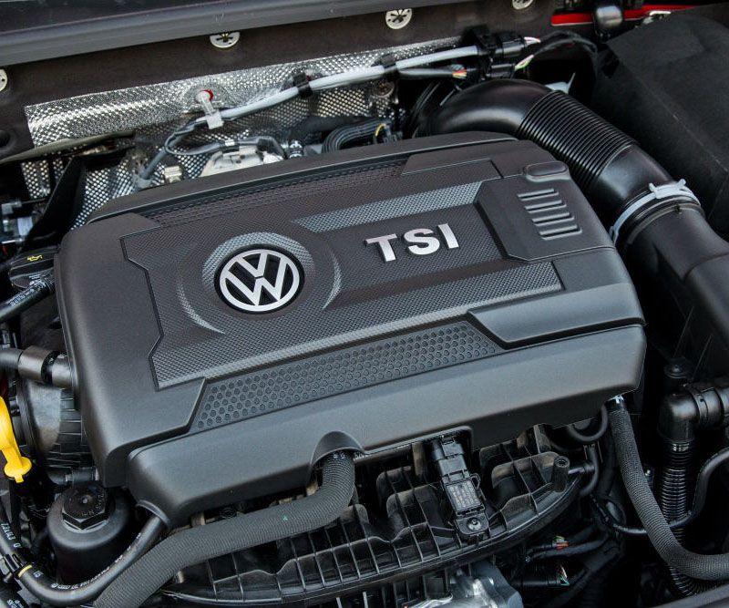 Volkswagen Tiguan 2017 мотор
