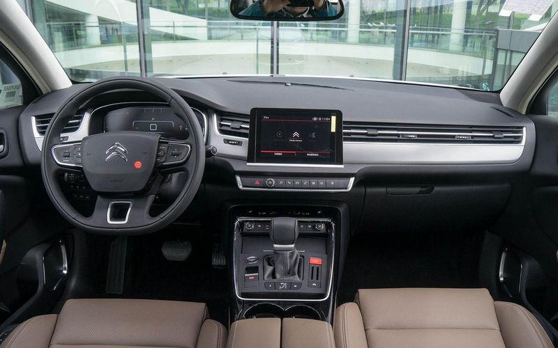 Китайский офис Citroen радикально проапгрейдил седан C5