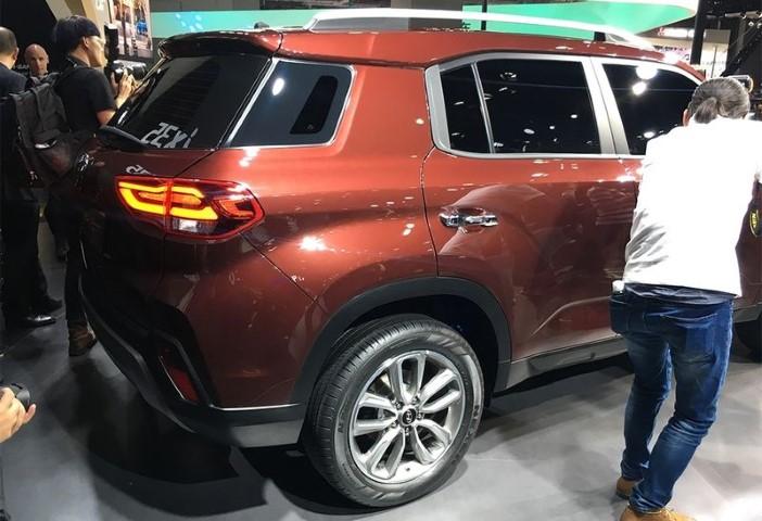 "На Шанхайском мотор-шоу корейцы представили обновленную альтернативу ""Тушкану"" - Hyundai ix35"