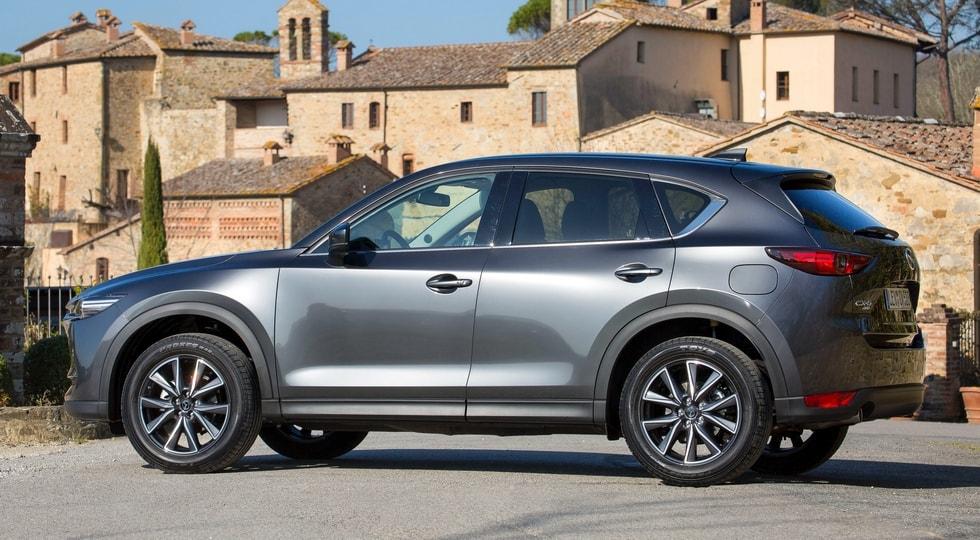 "Японский автопроизводитель озвучил сроки дебюта ""трехрядной"" Mazda CX-5"