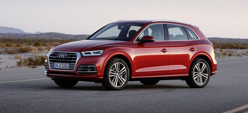 начало продаж в России Audi Q5 2017