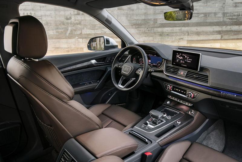 """Известны рублевые ценники на новопоколенный """"паркетник"""" Audi Q5"""