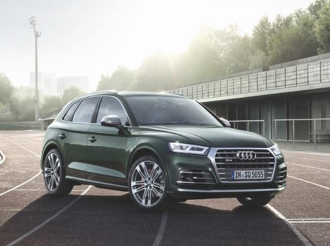 """Следом за """"гражданской"""" версией Audi объявила прайс на спортивную версию Q5"""