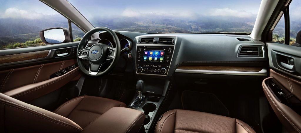 Компания Subaru завершила рестайлинг универсала Outback