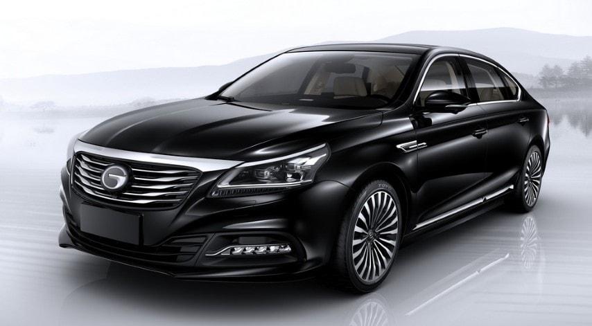 Китайцы хотят покорить мировые авторынки новым кроссовером GS8 и седаном GA8