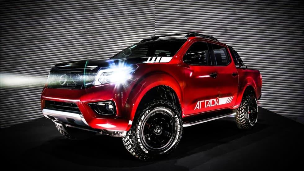 Новый концепт грузовика от Ниссана - Фронтьер Аттак представлен на мотор-шоу в Буэнос-Айресе