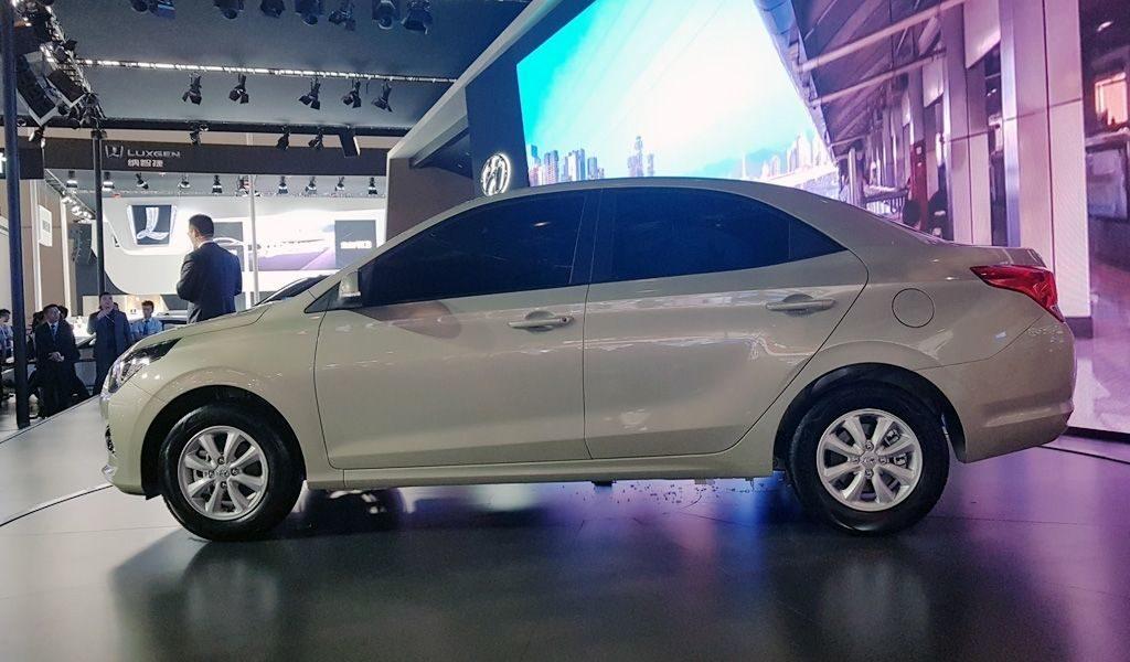 На автовыставке в Чунцине продемонстрировали самый дешевый Hyundai Reina