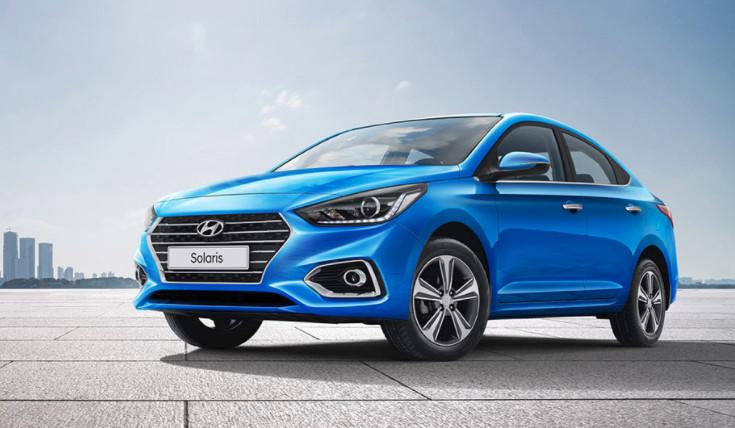 Внешний вид и обзор Hyundai Solaris