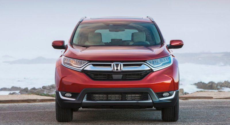 Автомобильный тест-драйв новой Хонда СРВ 2017 года