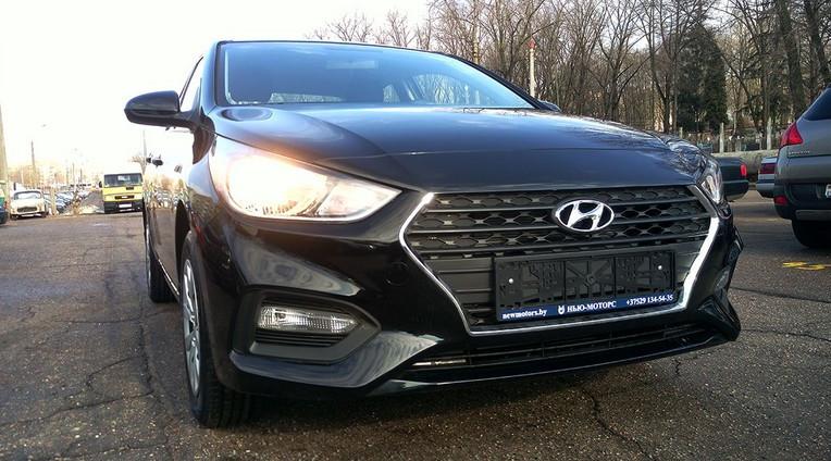Подвеска нового Hyundai Solaris 2017