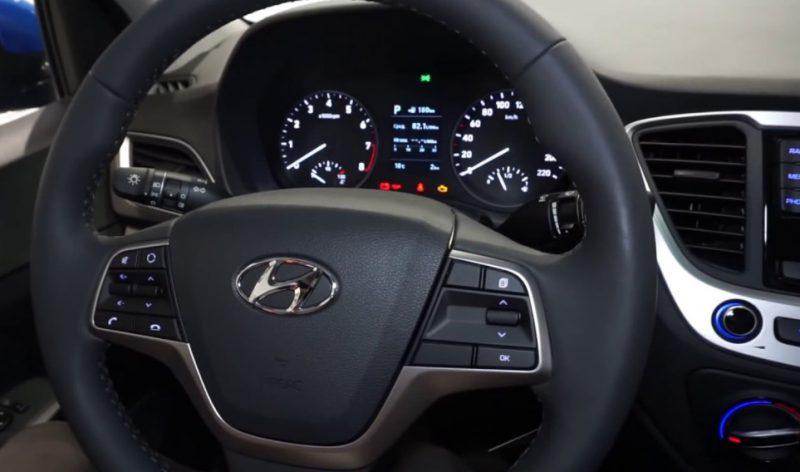 Рулевое колесо Hyundai Solaris
