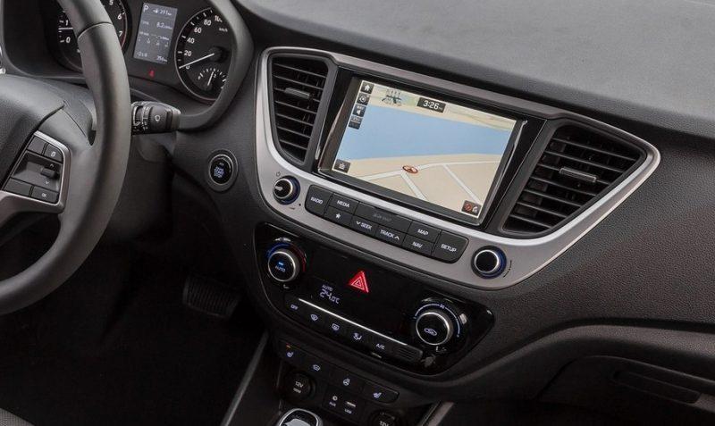 Мультимедиа Hyundai Solaris