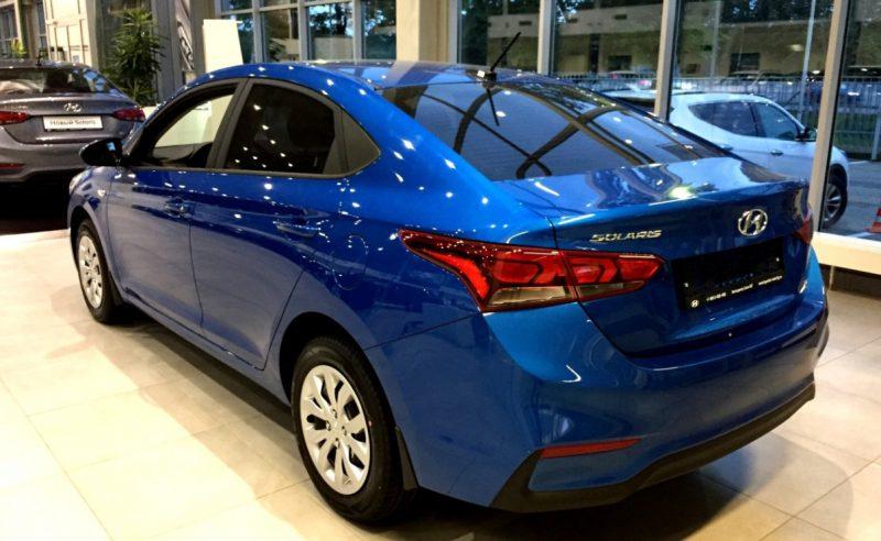 Цены и комплектации Hyundai Solaris