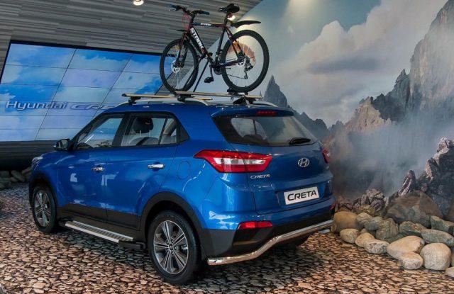Новенькая Hyundai Creta