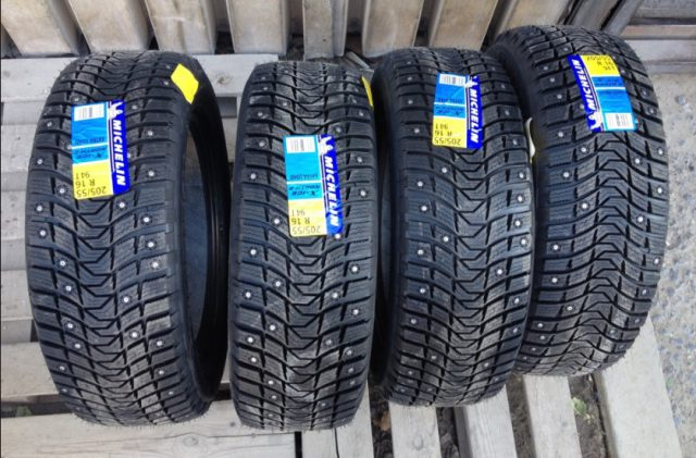 Шипованная зимняя шина Michelin x ice north 3