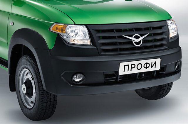 Внешний вид автомобиля УАЗ Профи