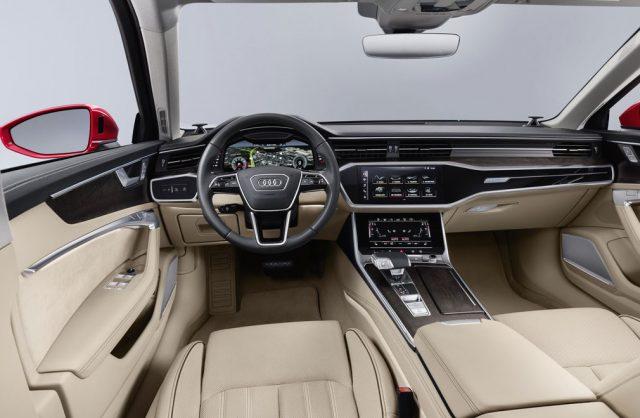 Салон и интерьер Audi A6 C8