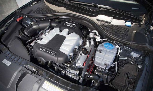 Двигатель Ауди А6 С8