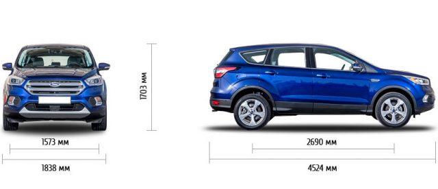 Технические характеристики Форд Куга 2 рестайлинг