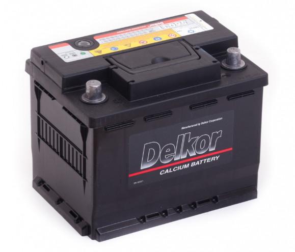 Автомобильный аккумулятор Delcor 60L+