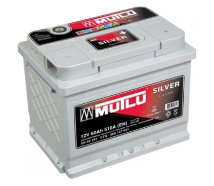 Автомобильный аккумулятор Mutlu Calcium Silver 60