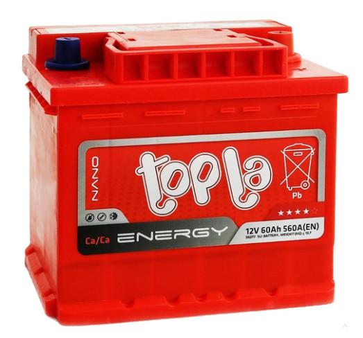Автомобильный аккумулятор Topla Energy 60