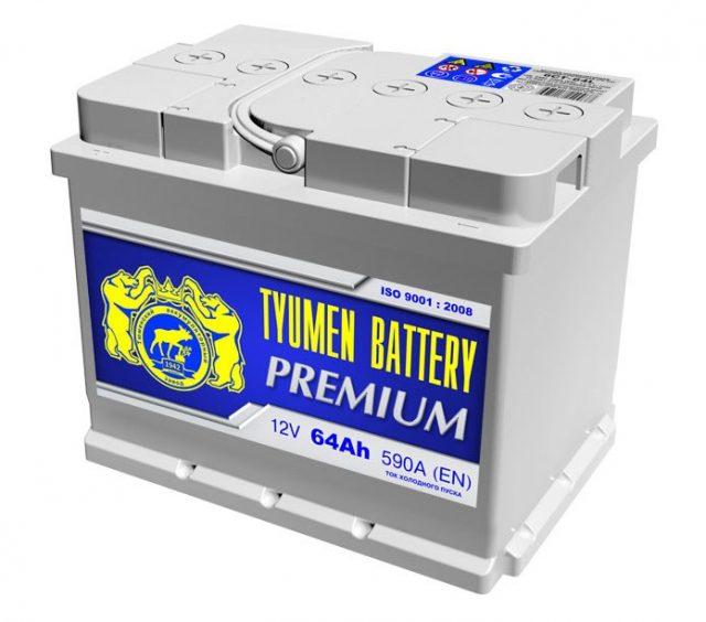Автомобильный аккумулятор Тюмень Премиум 6СТ-64L