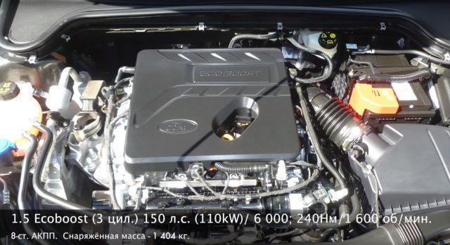Двигатель Форд Фокус 4