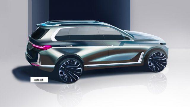 Характеристики новой BMW X8