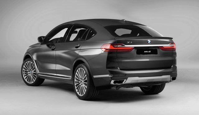внешний вид BMW X8