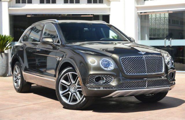 Автомобиль Bentley Bentayga W12