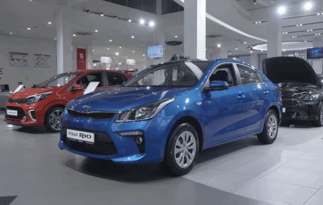 Где купить автомобиль KIA в Москве?