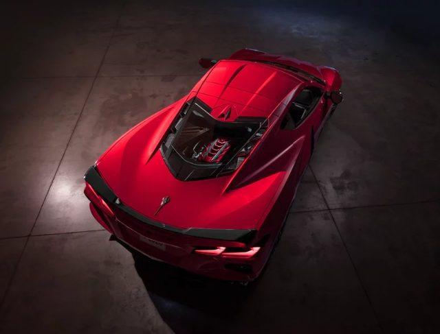 Chevrolet Corvette Stingray 2020 - вид сзади