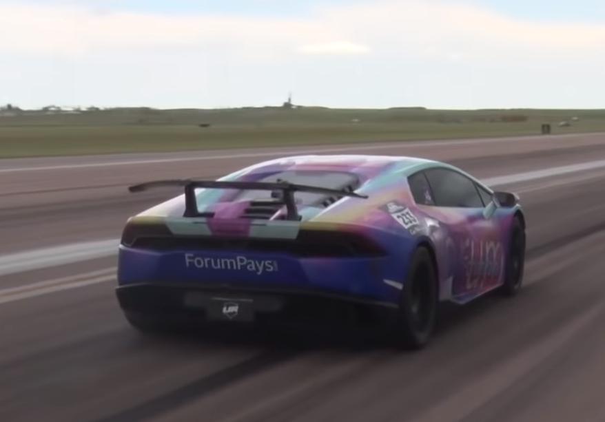 Lamborghini Huracan мощностью 3000 л. с