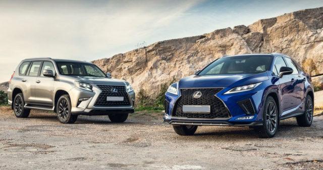 Обновленные Lexus RX и GX