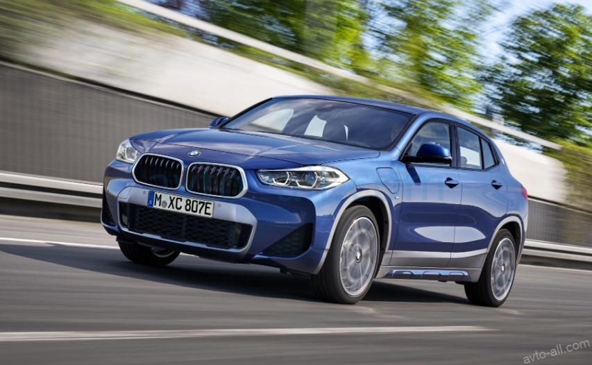 BMW X2 plug-in hubrid
