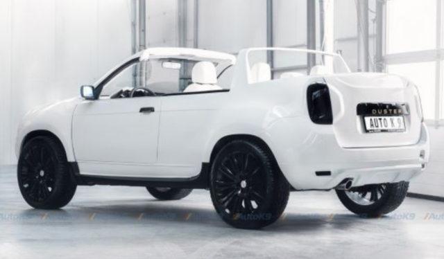 Дорогой Dacia Duster Cabrio