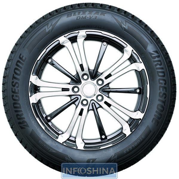 Японские автопокрышки Bridgestone Blizzak DM-V3 – надежное решение для поездок по бездорожью и заснеженным трассам