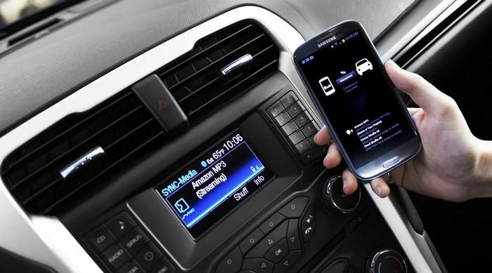 Современная мобильная техника в автомобилях