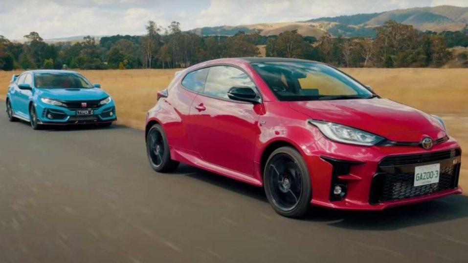 Honda Civic Type R i Toyota Yaris GR
