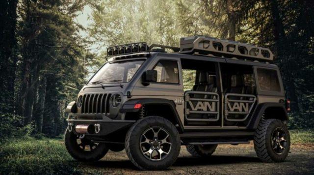 Прототип Jeep Grand Cherokee