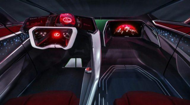 Салон Lexus HX Sleigh