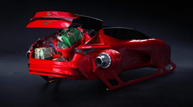 Багажник Lexus HX Sleigh