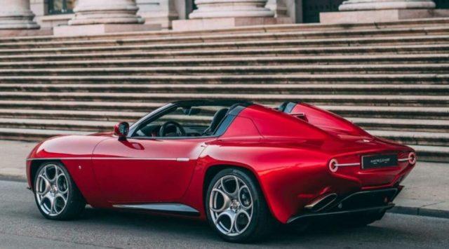 Редкая Alfa Romeo Disco Volante Spyder