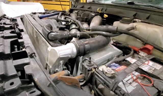 Мотор пикапа Ford F150