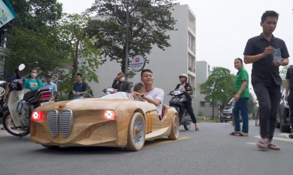 BMW-wood