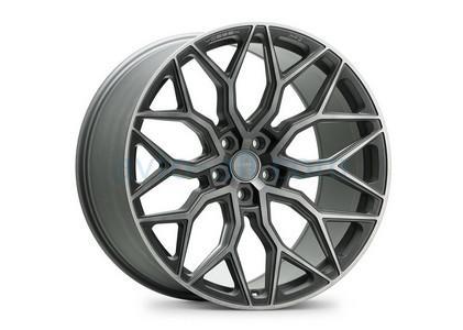 Самые красивые литые диски - Vossen HF-2, Цвет: Tinted Matte Gunmetal