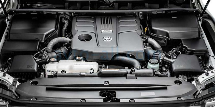 Фото двигателя Toyota Land Cruiser 300
