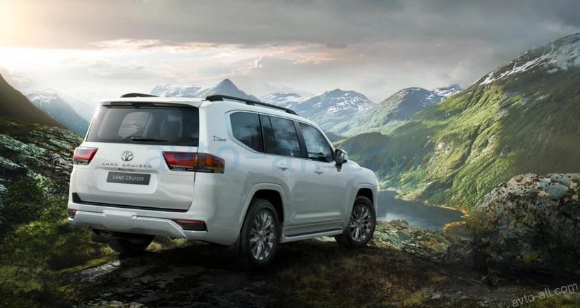 Обор нового Toyota Land Cruiser 300