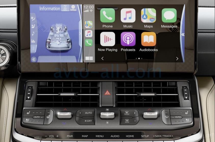 Мультимедийная система новая модели Ленд Крузер 300